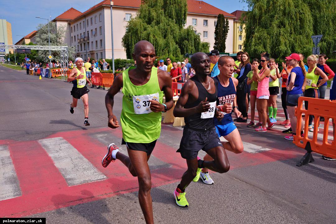 Deviatemu ročníku polmaratónu opäť dominovali Keňania